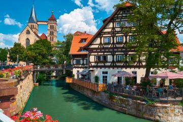 9 điểm đến hấp dẫn cho chuyến vi vu trong ngày từ Frankfurt, Đức