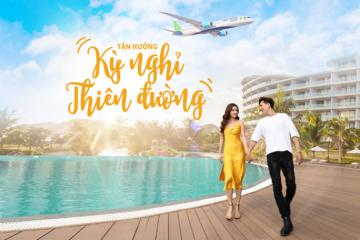 Siêu combo'Bay Bamboo Airways - Nghỉ dưỡng FLC' giá HOT