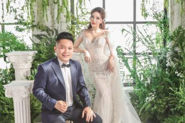 Bảo Thy tung bộ ảnh cưới lung linh cùng chồng doanh nhân, xác nhận lên xe hoa