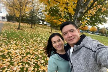 Bình Minh cùng vợ sang Canada đón sinh nhật