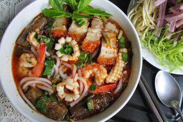 Ẩm thực Sài Gòn và 4 món bún ngon bạn không nên bỏ lỡ