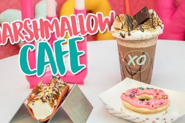 Khám phá quán cà phê marshmallow đầu tiên trên thế giới tại Chicago