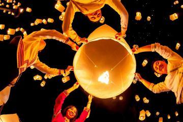 Tháng 11 đến Chiang Mai, tham gia Lễ hội thả đèn trời, chiêm ngưỡng kiến trúc đền chùa nổi tiếng