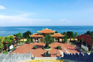 Mãn nhãn với vẻ đẹp tuyệt mỹ của chùa Hộ Quốc trên đảo ngọc Kiên Giang