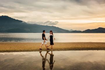 Đi đâu cho xa, ở Huế cũng có con đường rẽ nước đẹp 'không tưởng'