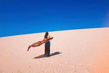 Lạc trôi ở 7 đồi cát được ví như 'tiểu sa mạc Sahara' của Việt Nam