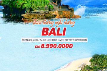 Du lịch Bali trọn gói khám phá thiên đường biển chỉ từ 8.990.000 đồng