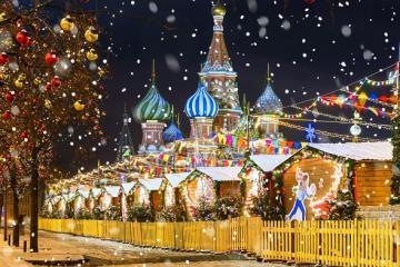 Những nhà thờ đón Giáng sinh nổi tiếng nhất nước Nga