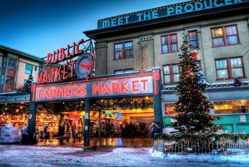 Du lịch Bắc Mỹ đến thành phố Seattle - Vancouver đón Giáng sinh 2019