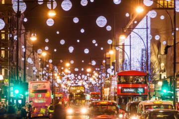 London và những điểm đến lung linh nhất Giáng sinh 2019