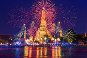 Đến Bangkok đón giao thừa ở đâu là lý tưởng nhất?