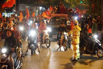 Hà Nội phân luồng giao thông phục vụ trận Việt Nam - UAE và Việt Nam - Thái Lan