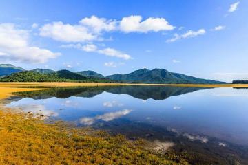 Du lịch Bình Định nhất định không thể bỏ qua bức tranh sơn thủy hữu tình Hồ Núi Một