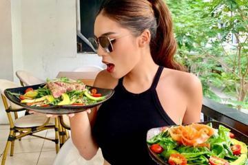 Hoa hậu Kỳ Duyên bật mí mẹo giảm nhanh 10 kg trong hơn một tháng