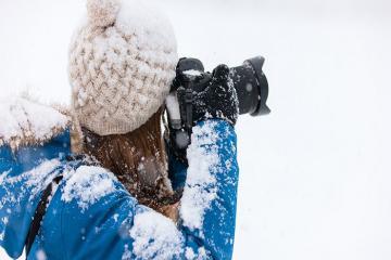 Mách bảo kinh nghiệm chụp ảnh với tuyết đẹp như thợ chuyên nghiệp