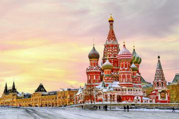 Khám phá nước Nga xinh đẹp: tham quan Quảng trường Đỏ, thưởng thức Bánh Hạnh Phúc
