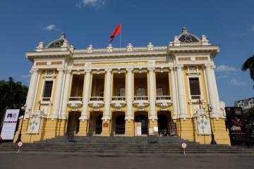 Nhà hát Lớn Hà Nội - Công trình kiến trúc ấn tượng giữa lòng thủ đô