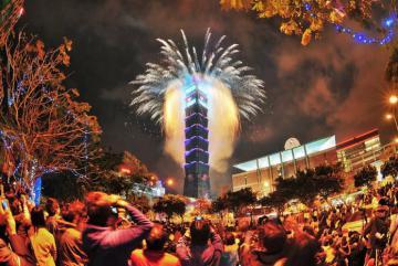 3 điểm ngắm pháo hoa chào năm mới ở Đài Bắc siêu đắc địa mà không lo chen chúc