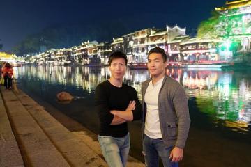 Anh em hoàng tử xiếc Quốc Cơ, Quốc Nghiệp du lịch Trung Quốc