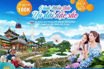 Sun World Halong Complex (Quảng Ninh) giảm giá vé cho du khách 6 tỉnh miền Bắc
