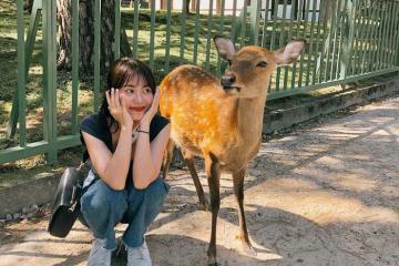 Hot girl Mẫn Tiên gợi ý những tips chụp hình chuẩn cho nàng nấm lùn khi đi du lịch