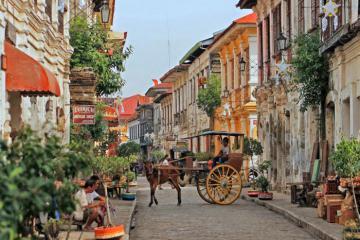 Cả châu Âu bỗng chốc thu bé lại tại thành phố Vigan, Philippines