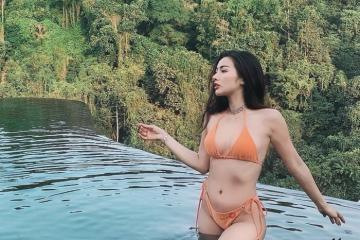 Yaya Trương Nhi khoe vóc dáng nóng bỏng khi du lịch ở Bali