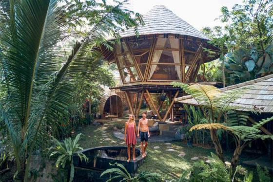 Biệt thự tre và 7 khu nghỉ dưỡng 'xanh' nhất Bali