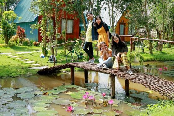 Chơi quên lối về ở 3 khu du lịch sinh thái Vĩnh Long