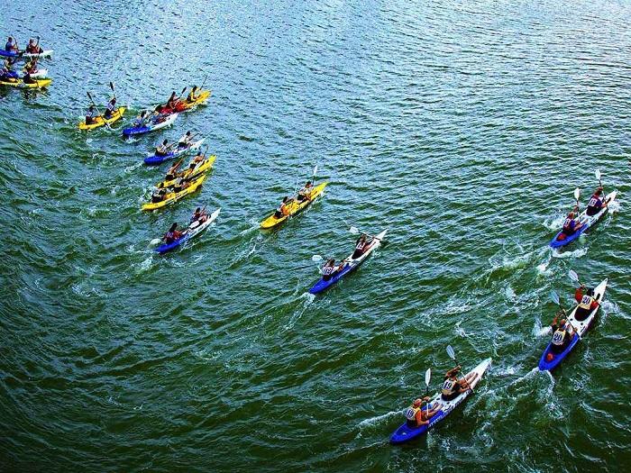 địa điểm chèo thuyền kayak đẹp nhất Việt Nam