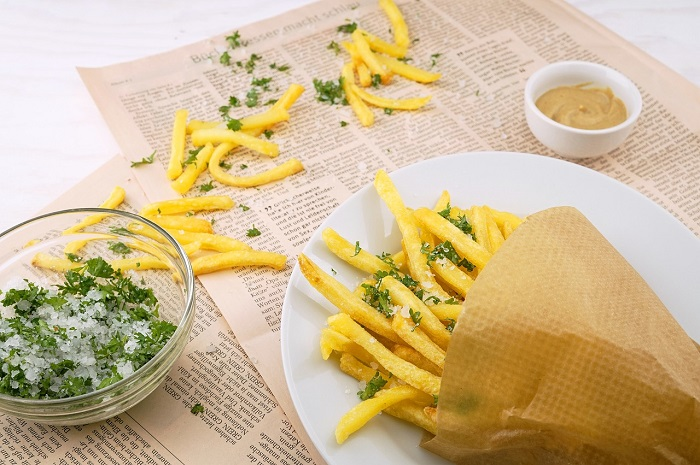 Khoai tây chiên một trong những món ăn truyền thống Bỉ ngon nhức nách