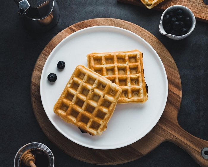 Waffle là một món ăn truyền thống Bỉ ngon nhức nách
