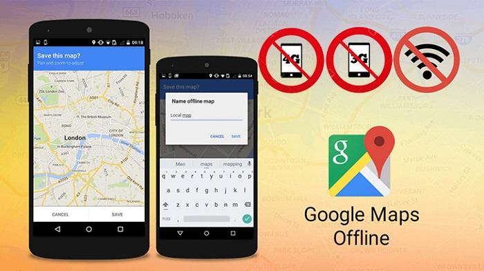 Tải bản đồ google maps offline về máy là cách tiết kiệm dung lượng mạng hiệu quả khi đi du lịch