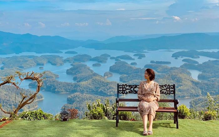 """Hồ Tà Đùng – điểm du lịch """"mới toanh"""" đẹp long lanh giữa đại ngàn Tây nguyên. Ảnh 24h"""
