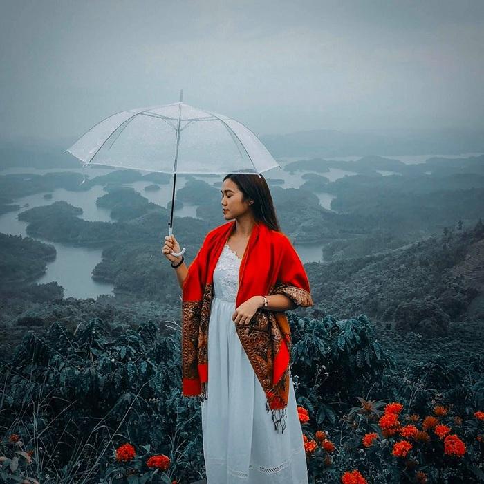 Hồ Tà Đùng cực đẹp không khác gì Đà Lạt cả. Ảnh: Yan