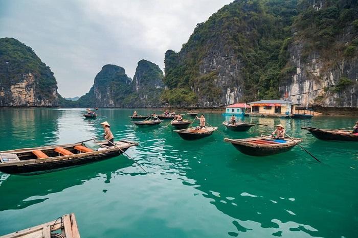 làng chài đẹp ở Việt Nam