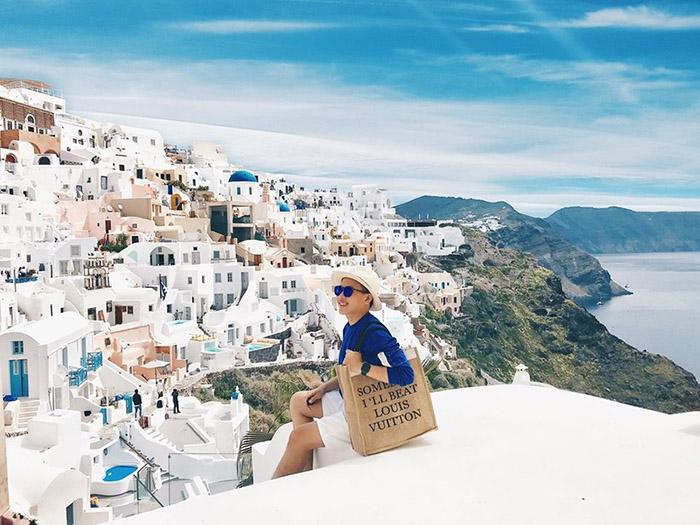 Mùa đẹp nhất tại Santorini