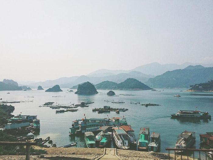 Hồ Thung Nai – tiểu Hạ Long giữa lòng Hòa Bình