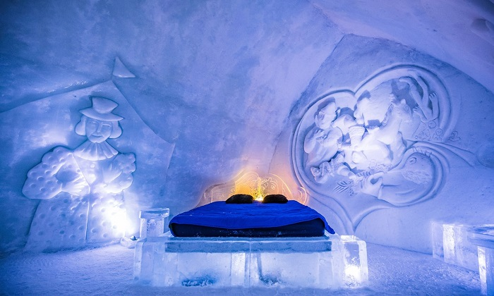 khách sạn bằng băng