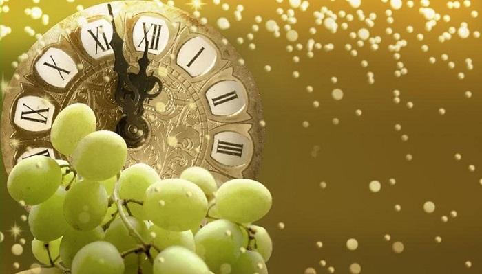 在西班牙跨年夜吃12个葡萄整整一年