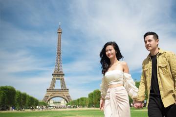 Những cặp vợ chồng nào đi du lịch nhiều nhất showbiz Việt?