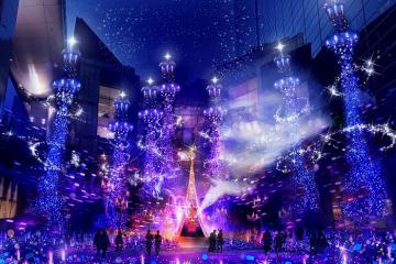 Tokyo mùa Giáng sinh và những 'bữa tiệc ánh sáng' đẹp đến nghẹt thở