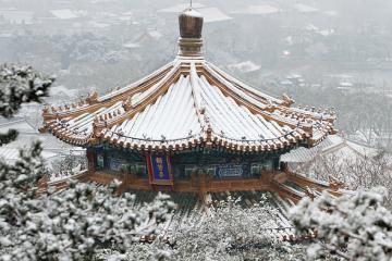 Chìm trong tuyết trắng, Bắc Kinh mùa đông hóa thiên đường đẹp mộng mơ