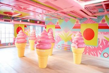 Chìm đắm vào thế giới ngọt ngào trong bảo tàng kem độc đáo tại New York vừa khai trương