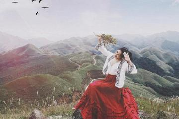 Đông về ghé thiên đường Bình Liêu, Quảng Ninh check-in đồng cỏ lau nở trắng trời