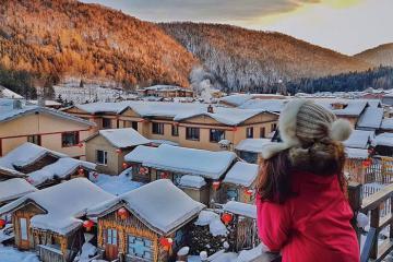 Theo chân 9X xinh đẹp đến Cáp Nhĩ Tân đắm mình trong xứ sở băng tuyết đẹp như cổ tích