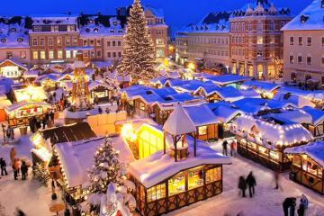 Thỏa sức tận hưởng Noel tại 3 khu chợ Giáng sinh lớn và đẹp nhất thế giới