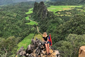 Gợi ý lịch trình du lịch Lào 3N2Đ, ngắm nhìn thiên đường hạ giới Luang Phrabang