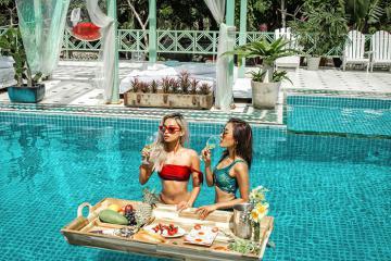 Hồ bơi Morocco siêu sang chảnh lần đầu tiên xuất hiện tại Bình Thuận