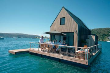 Tận hưởng kỳ nghỉ lãng mạn tại khu biệt thự nổi sang trọng ở Sydney, Úc